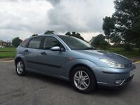 2004 rare 1.6 litre FORD FOCUS ZETEC AUGUST 2017 MOT FULL HISTORY CAMBELT CHANGE!!