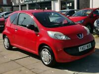 2007 Peugeot 107 1.0 Urban Lite 3dr HATCHBACK Petrol Manual