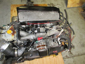 SUBARU WRX EJ20 DOHC TURBO ENGINE 5SPEED TRANS JDM EJ20T