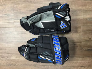 "Warrior, 13"" hockey gloves (never worn)"