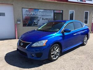 Nissan Sentra SR tech pack 2013