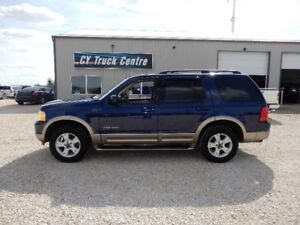 2004 Ford Explorer Eddie Bauer Lthr Roof 3rd Row 4x4 Low Kms
