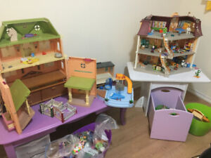 DREAM COLLECTION! TONNES OF KID'S PLAYMOBIL! & KID'S FURNITURE!