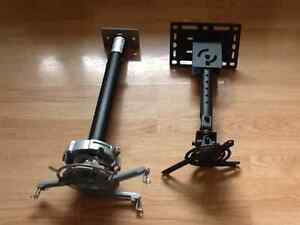 Two Different Types of Projector Mounts Available $30 and $50 Strathcona County Edmonton Area image 1