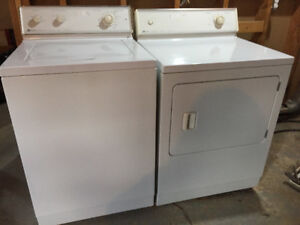 Maytag Heavy Duty Washer and Dryer