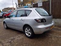 2006 56 Reg Mazda Mazda3 1.6 TS,SILVER,5 DOORS,MANUAL,47,000 MILES