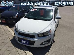 2016 Chevrolet Sonic LT  - Certified - Chevy MyLink -  Bluetooth