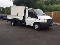 2012-62-Reg ford transit 350-100ps euro5 LWB dropside free uk doorstep delivery