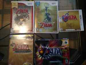 Zelda collection plusieurs jeux, ocarina of time master quest,