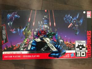 Transformers Figurines Articulées Édition Platine Héros