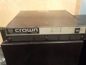 Crown Comtech 400 stereo Pro amp West Island Greater Montréal image 1