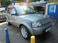 2011 61 LAND ROVER DISCOVERY 4 3.0 SDV6 255 GS AUTO IN GREY # 2 OWNERS FROM NEW