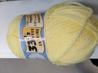laine a tricoter de marque chunky