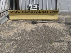 For sale snow blade