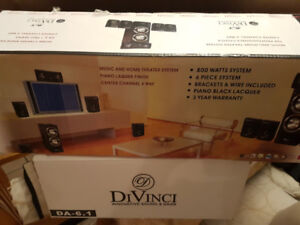 Speakers sourround 6.1 and subwoofer