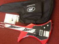 Peavey power slide guitar