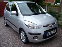 Hyundai i10 2010 comfort 1.2 5 door a/c £30 tax call 07790524049