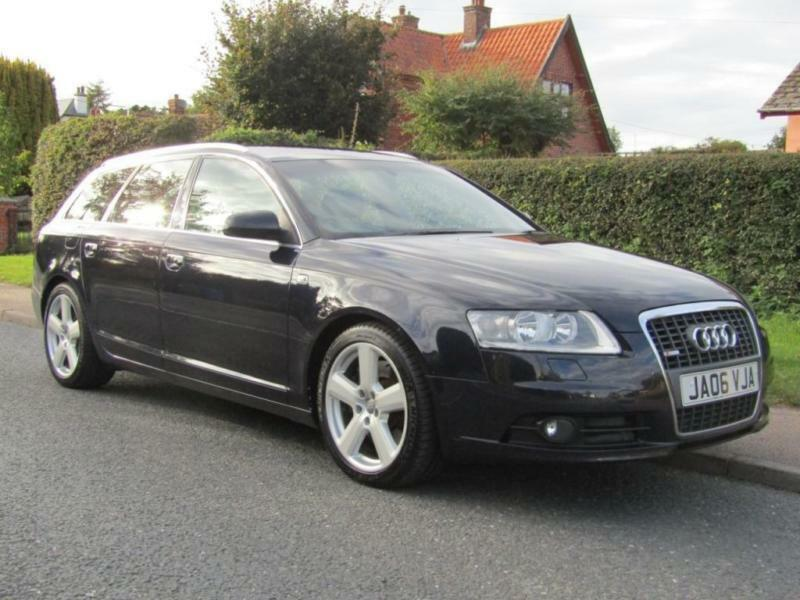 2006 audi a6 3 0 tdi quattro s line 5dr auto turbo diesel estate 91 000 mi in halesworth. Black Bedroom Furniture Sets. Home Design Ideas