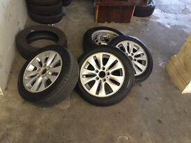 Set of 3 16'' Wheels for a BMW 1 Series