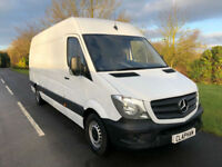 2017 17 MERCEDES BENZ SPRINTER LWB 2.1TD 313CDI 130BHP 1 OWNER ANY UK DELIVERY