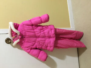 Size 24 month winter coat and snow pants