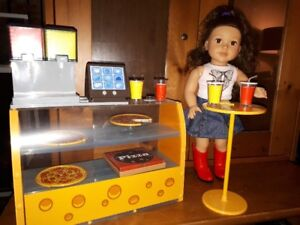 Pizza Parlour with Stand for 18 inch doll