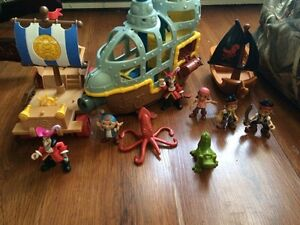 Jake and the never land pirates lot