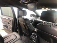 2009 59 reg Audi Q7 3.0 TDI S line Diesel Tiptronic Quattro + Black + TV/ DVD