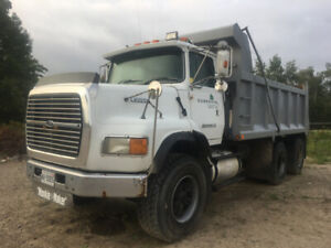 RETIRED!     1995 FORD L9000 DUMP