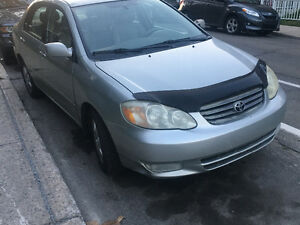 2003 Toyota Corolla 4door. XLE Sedan