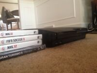 PS3 with games and 2 controllers (BlackOPS 2)