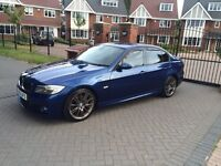 Stunning 55 plate BMW E90 330d MSPORT, has facelift LCI spec (2009 + models) loads of extras