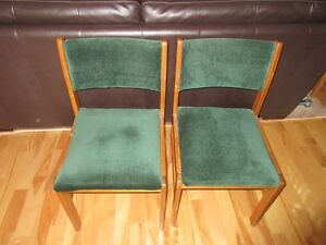 2 Matching Upholstered Chairs