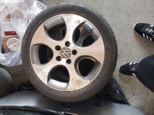 17 inch vw Detroit huff cookie cutter rims