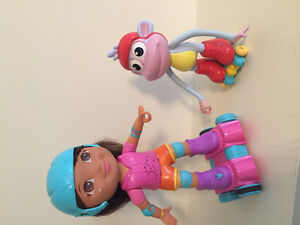 Dora and Boots Dancing Toy