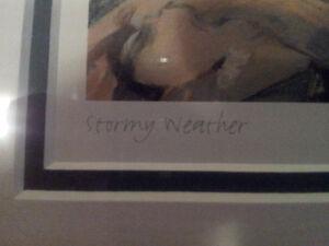 "Beautiful Fredrick Varley piece ""Stormy Weather"" Studio Panel London Ontario image 2"