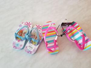 Babies Flip Flops, Size 7-8