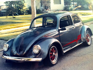 69 VW Beetle - Frame Up Restoration