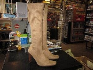 Ladies Tall Boots Size 9 With A 4 Inch Heel