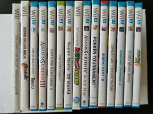 Selling Nintendo Wii U, N64, and 3DS Games (perfect condition)