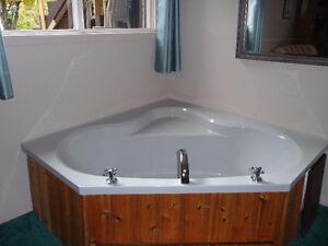 Indoor Jacuzzi / soaker tub