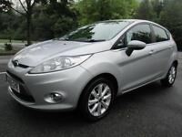 09/09 FORD FIESTA ZETEC 1.4 TDCI 5DR HATCH IN MET SILVER WITH SERVICE HISTORY