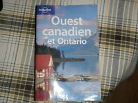 guide lonely planet ouest canadien et ontario