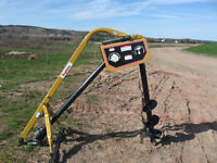 New KingKutter Posthole Diggers, Hillers and more.