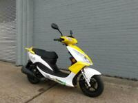 WK Bikes TTR 50 49cc EFi scooter moped