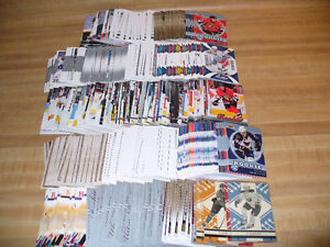 OVER 700 HOCKEY ROOKIE CARDS !!!