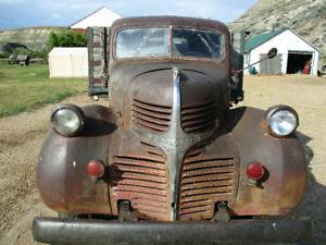 1947 Dodge 2 ton truck. Great original patina