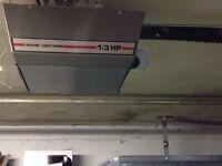 Sears Craftsman 1/3 HP garage door opener.