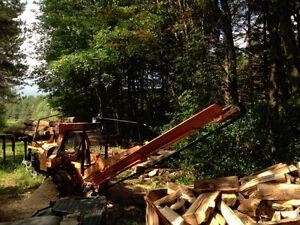 Processeur de bois de chauffage  20 tonne avec moteur Kohler