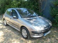 Peugeot 206 1.6 ( dig a/c ) 2001 GLX Hatch/back